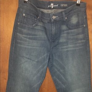 NWT 7 For All Mankind Carsen Straight Leg Men 31